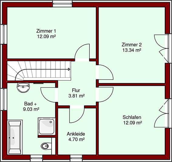 stadtvilla mare lagune 112 mare haus gmbh. Black Bedroom Furniture Sets. Home Design Ideas