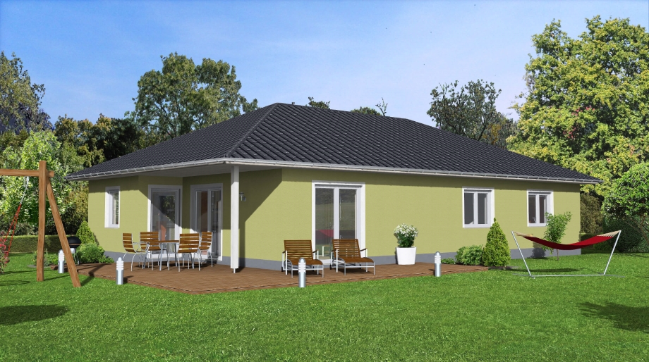 mare 124 mit doppelgarage. Black Bedroom Furniture Sets. Home Design Ideas